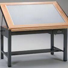 Light Table Desk Mayline Lighted Drafting Table Light Tables Drafting Tables