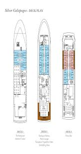 cruise ship floor plans silver galapagos cruise reviews descriptions and tours