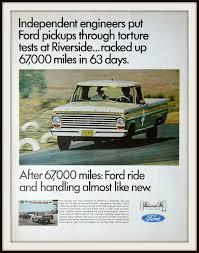 Old Ford V8 Truck - 1967 ford pickup truck advertisement vintage ford ad vintage