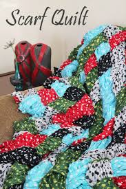 quilt pattern tutorial make your own quilt out of scarves