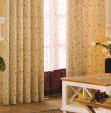 darkening curtains country light yellow floral jacquard