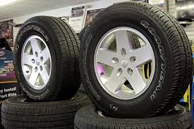 2013 jeep wrangler sport aluminum wheels and tires for sale at