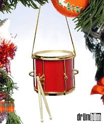 drum bum miscell marching drum ornament