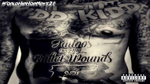 kidd kidd tattoos over my bullet wounds new song youtube