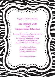 zebra print invitations printable free all things zebra