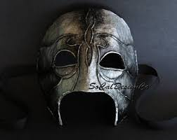 Corvo Costume Halloween Assassin Mask Etsy