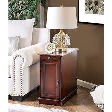 side table with power outlet gracewood hollow flanagan multi storage side table free shipping