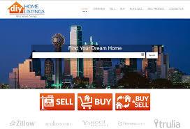 diy homelistings website portfolio web sites cdg marketing