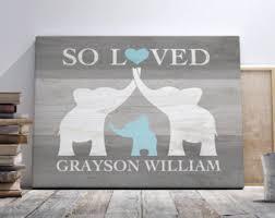 elephant nursery etsy