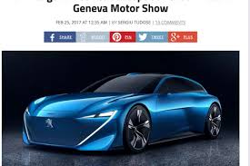 peugeot concept cars peugeot concept car instinct salon de geneve 2017 fuite scoop