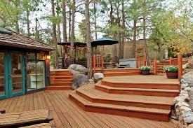 craftsman deck with trellis u0026 french doors in prescott az