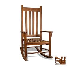 Black Rocking Chairs Lowes Shop Tortuga Outdoor Oak Outdoor Rocking Chair At Lowes Com