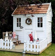 exterior impeccable outdoor wooden playhouses kids furniture