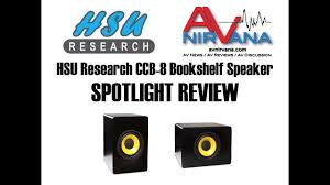 theater research home theater system hsu research ccb 8 bookshelf speaker review youtube