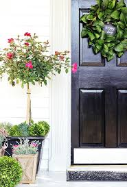Front Door Planters by Spring Door Decorating Ideas Thistlewood Farm