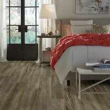 Shaw Laminate Flooring Home Depot Alliant 7 In X 48 In Trail Resilient Vinyl Plank Flooring 34 98