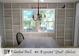 planked wall with exposed stud shelving tutorial east coast planked wall with exposed stud shelving tutorial