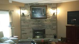 Remove Brick Fireplace by Brick Stone Fireplace Remove Brick Facing Doityourself Com