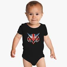 Great Britain Flag Vanoss Great Britain Flag Baby Onesies Customon Com