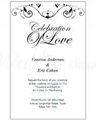formal wedding invitation printable formal wedding invitation templates