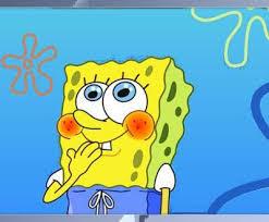 Shy Meme - shy spongebob blank template imgflip