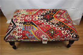 antique turkish kilim table ottoman kilim furniture 8135