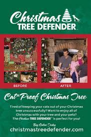 Cat Climbing Christmas Tree Video Amazon Com Christmas Tree Defender U0026 Potted Plant Protector 48