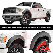 4pc 09 14 ford f 150 fender flares with led lights paramount ebay