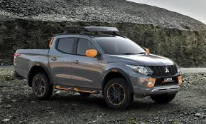 mitsubishi l200 2004 mitsubishi flavors up l200 and asx with geoseek concepts
