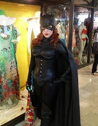 Batwoman Halloween Costume Alexia Jean Grey Batgirl Cosplay Girls Batgirl