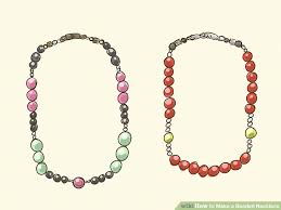 beaded necklace make images How to make a beaded necklace 15 steps with pictures wikihow jpg