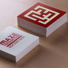 Plastic Business Cards Los Angeles Square Business Cards Custom Print Options Uprinting