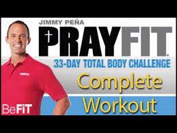 Challenge Complete Prayfit 33 Day Total Challenge Complete 33 Min Workout