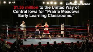 Prairie Meadows Buffet by Prairie Meadows Points Finger At Whistleblower