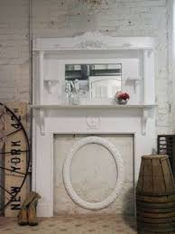 Shabby Chic Fireplace by Fireplace Mantle Shabby Chic My Beautiful Home Pinterest
