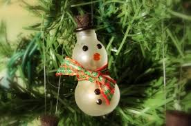 diy snowman ornament and seed gift plant gift