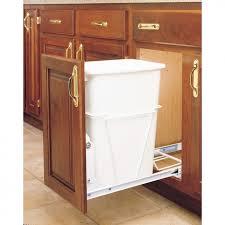 kitchen trash bin cabinet lowes kitchen trash cans kenangorgun com