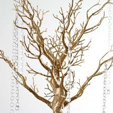 tree centerpieces 30 manzanita tree with garlands for wedding diy party catering