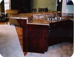 kitchen island with raised bar kitchen cabinets bar lakecountrykeys com