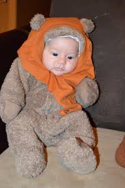 hoop hangout halloween star wars diy baby wicket the ewok