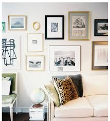 Gallery Wall Frames by Mixing Frames Matting Love The Light Visual Of This Wall