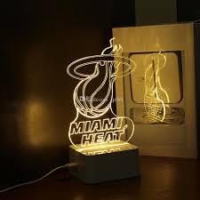 Neon Desk Lamp 2017 Miami 3d Lamp Desk Lamp Creative 3d Desk Lamp For Home Decor