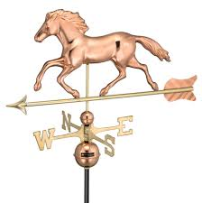 Horse Weathervane For Barn Weathervanes Rooster Horse Eagle Motorcycle Airplane Golfer