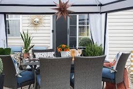 Cabana Plans With Bathroom Patio Cabana Ideas For An Outdoor Dining Area