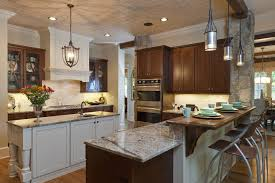 Breakfast Bar Kitchen Islands Breakfast Bar Kitchen Traditional With Kitchen Island Wood