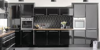 High Gloss Black Kitchen Cabinets Stunning High Gloss Black Kitchen Cabinets Delightful On Northern