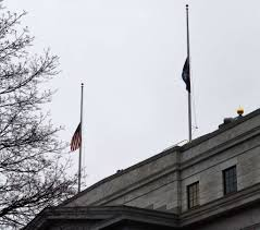 White House Flag Half Mast State Flags At Half Staff For Military Members Killed In