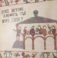 Bayeux Tapestry Meme - what modern day bayeux tapestry equivalent might look like daily