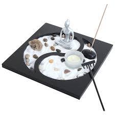 amazon com gifts u0026 decor tabletop zen sand rocks candle holder