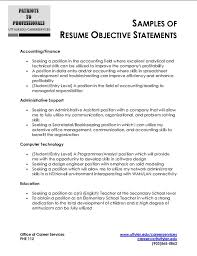 Career Objectives Examples For Resumes by 28 General Objective Resume Examples 5 Job Resume Objective
